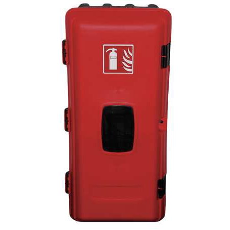 Jonseco Jebe06 Fire Extinguisher Cabinet 10 Lb Blk Red