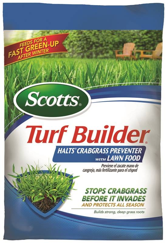 Scotts Turf Builder Halts Crabgrass Preventer with Lawn Food 5,000 sq ft
