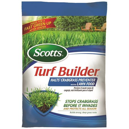 Scotts Turf Builder Halts Crabgrass Preventer with Lawn Food 5,000 sq