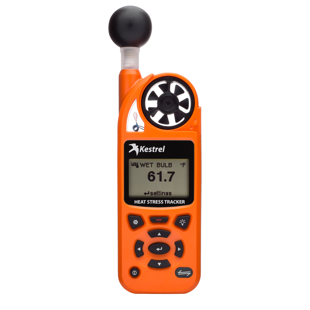KESTREL 5400 HEAT STRESS  TRACKER - SAFETY ORANGE