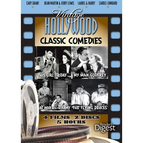Vintage Hollywood: Classic Comedies - His Girl Friday / My Man Godfrey / At War With The Army / The Flying Duces