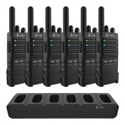 Cobra Business Series - PX655 Pro Business 2W FRS Radios - 6-Pack with 6 Port Charging Dock