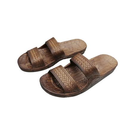 513c406da4d9de Imperial Sandals - Hawaii Brown or Black Jesus Sandal Slipper for Men Women  and Teen Classic Style (Womens size 9