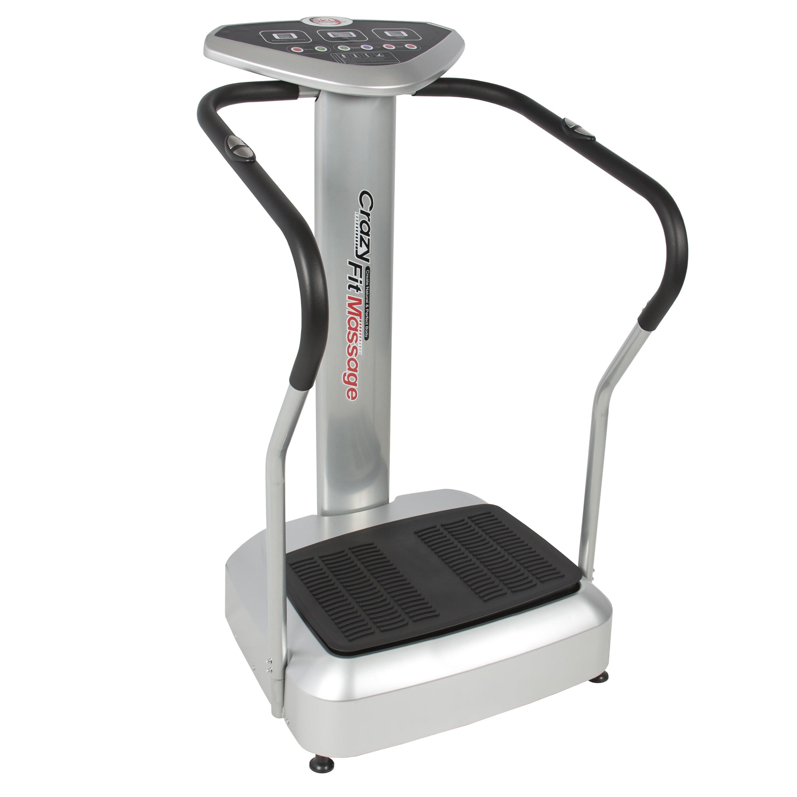 Best Choice Products New Slim Full Body Vibration Platform Crazy Fit Massage Fitness Machine