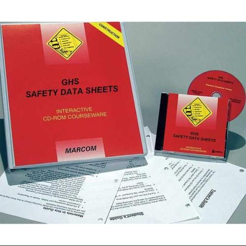 Marcom C0001600SD GHS SDS Construction, CD-ROM, Spanish