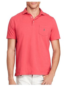 c5342a13 Product Image Polo Ralph Lauren Men's Big Tall ClassicFit Cotton T-Shirt  Red Size 2-Large
