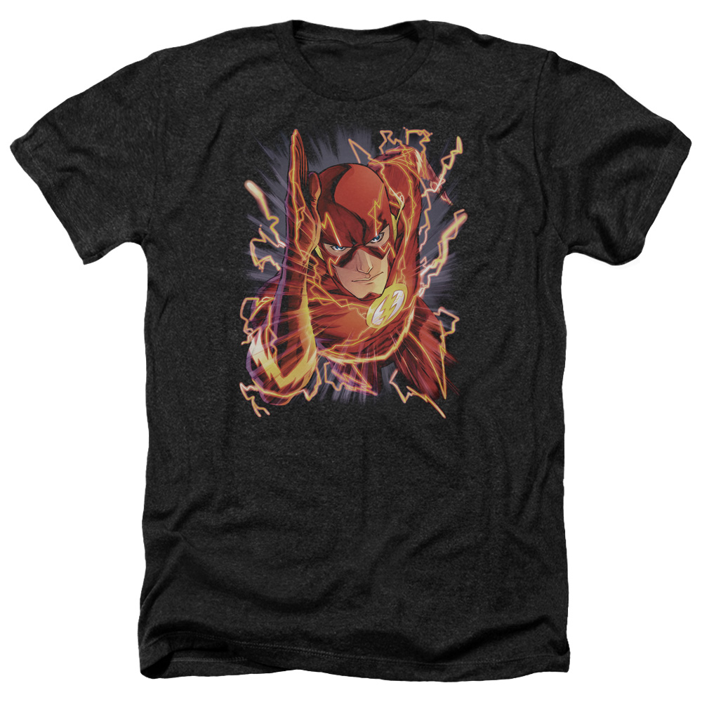 Jla Flash #1 Mens Heather Shirt