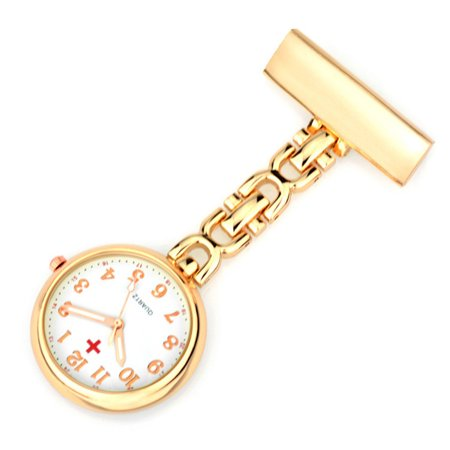 Delicate Medical Alloy Nurse Supe Retro Style Pocket Watch Decoration Rose gold - Medical Pocket Watch