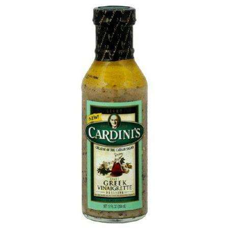 Cardini's Light Greek Vinaigrette Dressing 12 fl. Oz (Pack of