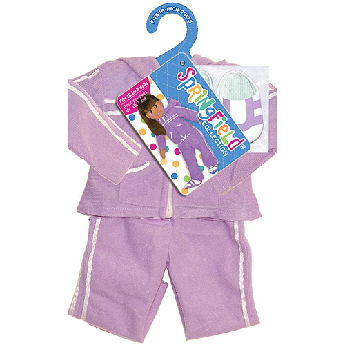 Springfield Collection Athletic Outfit, Purple Suit and Shoes Multi-Colored