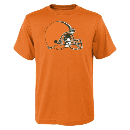 Cleveland Browns Youth Team Logo T-Shirt - Orange