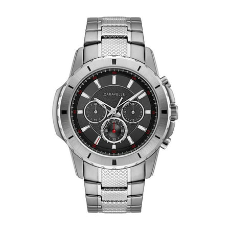 - Caravelle Men's Chronograph Stainless Steel Bracelet Sport Watch 48mm