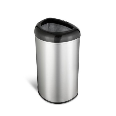 Nine Stars Stainless Steel 13.2 Gallon Open Top Trash Can
