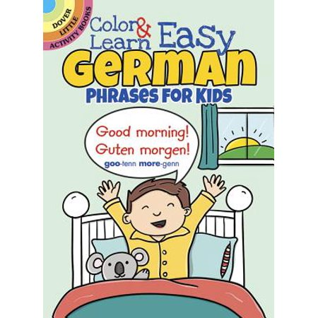 Color & Learn Easy German Phrases for Kids](Halloween Phrases In German)