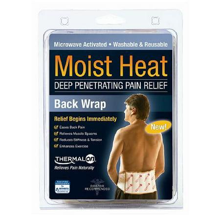 Thermalon Moist Heat Deep-Penetrating Pain Relief Back Wrap 7 X 12 In - 1 Ea ()