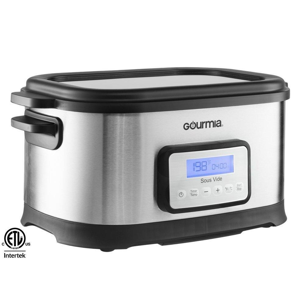 Gourmia GSV-550 9 quart Sous Vide Water Oven Cooker with Digital Timer and