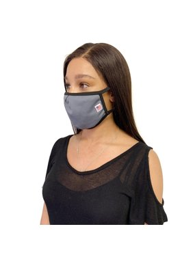 Made in USA Face Masks Mouth Nose Washable Reusable Double Layer Mask Cotton Cloth Blend