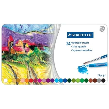 Watercolor Crayon - Staedtler Karat Watercolor Crayon Set, 20-Colors