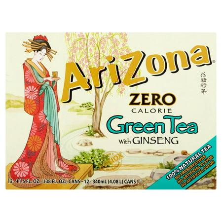 AriZona régime de thé vert avec Ginseng, 11,5 oz