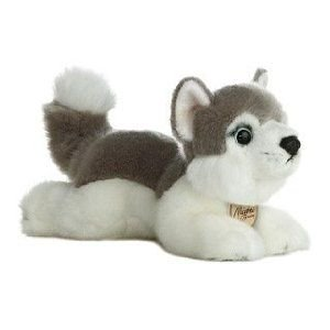 Dog 9 Inch Plush Stuffed Animal - Husky 8 Inch - Miyoni - Dog & Puppy Stuffed Animal by Aurora Plush (10810)