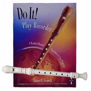 Recorder Pack: Yamaha Ivory Soprano Recorder with Do It! Play Recorder! Book & CD