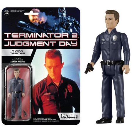 Funko The Terminator ReAction T-1000 Officer Action