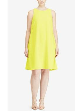 Lauren Ralph Lauren Plus Size Paland Crepe A-Line Dress