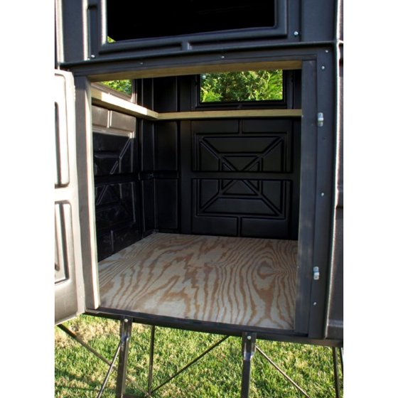 Hughes 4x4 Hunting Blind Hideout Box Thick Wall Panels Half Door Model 67000