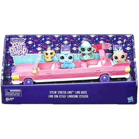 Littlest Pet Shop Stylin' Stretch Limo Vehicle - Hollywood Limo