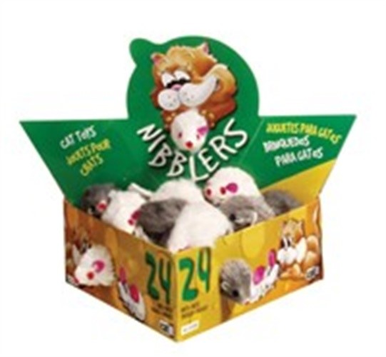 Catit Fur Mouse, Small 24/Box