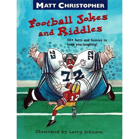 Matt Christopher's Football Jokes and Riddles - eBook - Jokes And Riddles For Halloween