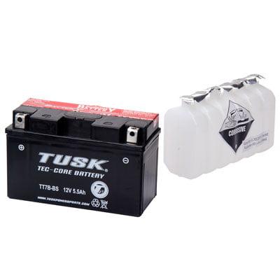 Tec-Core Battery with Acid TT7BBS Maintenance-Free for Triumph Street Triple 675 2008