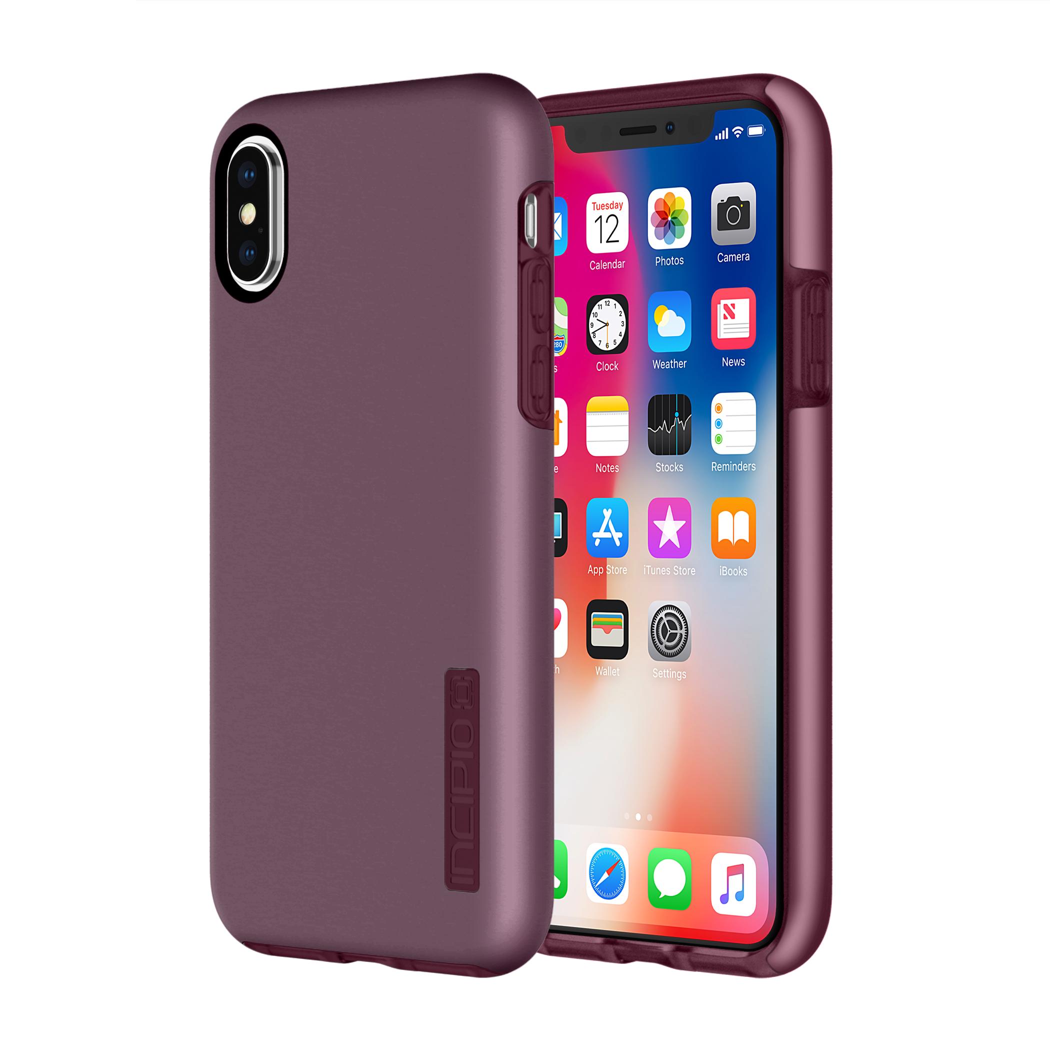 Incipio Dualpro Iphone x Irides Merlot