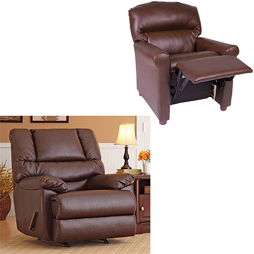 Better Homes and Gardens Adult Recliner with Matching Kids
