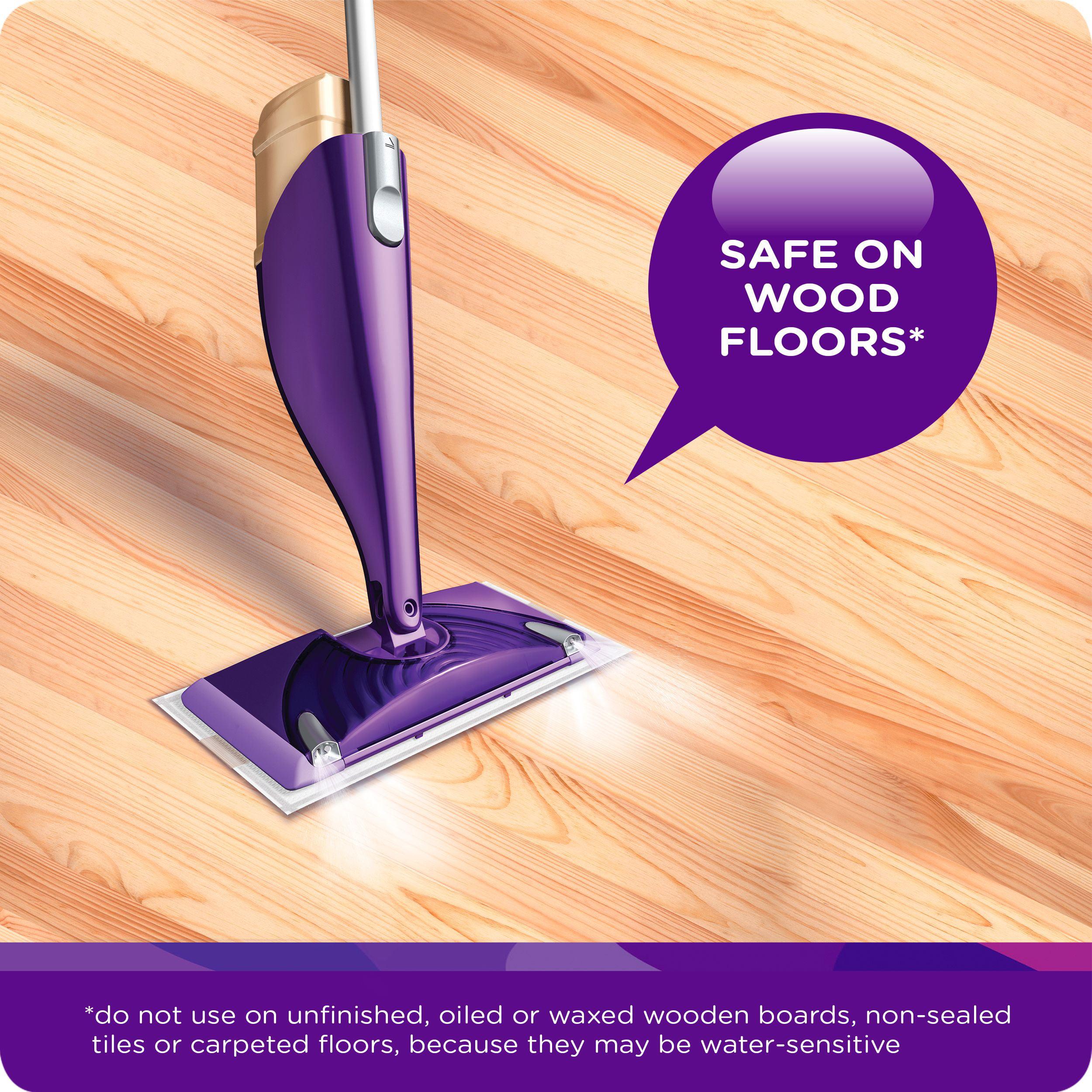 Swiffer Wetjet Multi Purpose Floor And Hardwood Liquid Cleaner Solution Refill Open Window Fresh Scent 42 2 Fl Oz Com