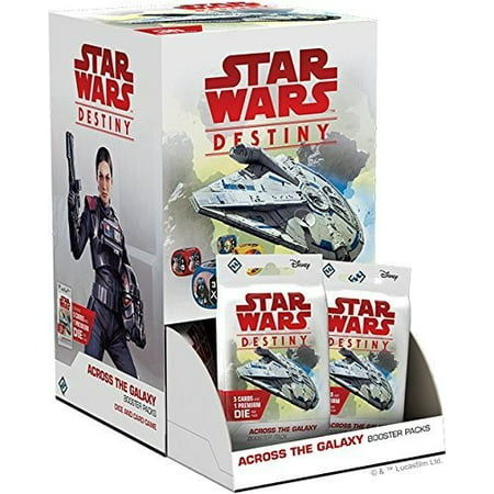 Star Wars Destiny: Across the Galaxy Booster Pack Booster Pack D&d Miniatures