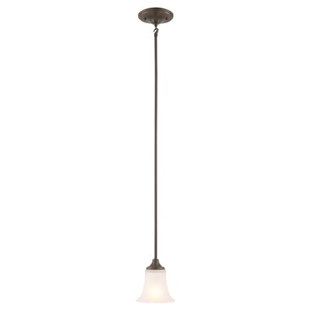 Design House 515833 Juneau 1-Light ENERGY STAR Mini Pendant - Oil Rubbed Bronze Finish