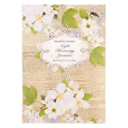Flora Classique Scented Sachet Packet - Night Blooming Jasmine - .71 Oz