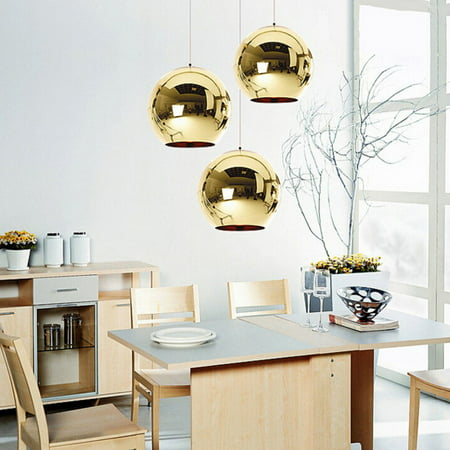 Moaere Clearance Lighting Vintage Clear Glass Globe Pendant Oil Kitchen Hanging Lamp Antique Brass Hanging Fixture Glass Drop Ball Ceiling Lights Brass Ceiling Light Fixture
