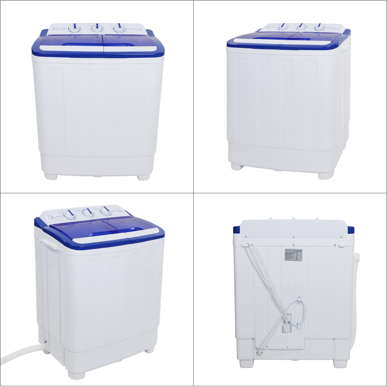 Ktaxon Mini Portable Washing Machine/Spin Wash 16/11/13Lbs Capacity Compact Washer for Clothes