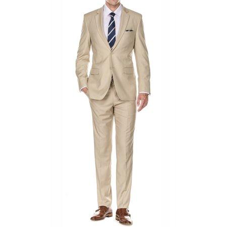 694bb986b80 Braveman - Braveman Men s Classic Fit 2 Piece Suits - Walmart.com