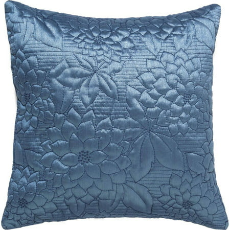 Works Gardenia - Belle Maison Gardenia Embroidered Quilted Decorative Pillow 16