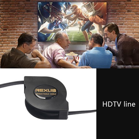 New Version 1.4 Supports 3d Copper Flat Retractable Hdmi Cable - image 4 of 10