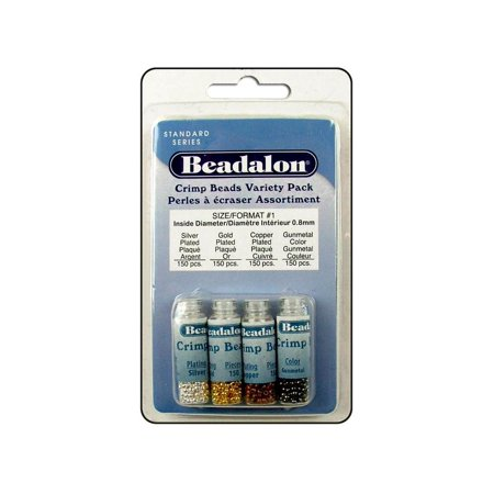 (Beadalon Crimp Beads VP Size 1 600pc)