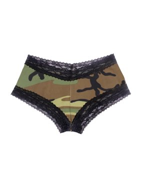 Rothco Women s Lace Trimmed Camouflage Booty Shorts e90cf05bb