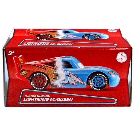 Disney Cars Puzzle Box Series 2 Transforming Lightning McQueen Diecast Car (Lightning Mcqueen Cars 2)
