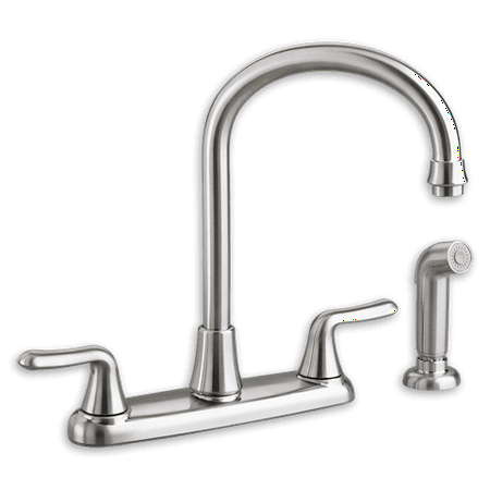 American Standard Colony Soft 2-Handle Kitchen Faucet with Handspray in Chrome