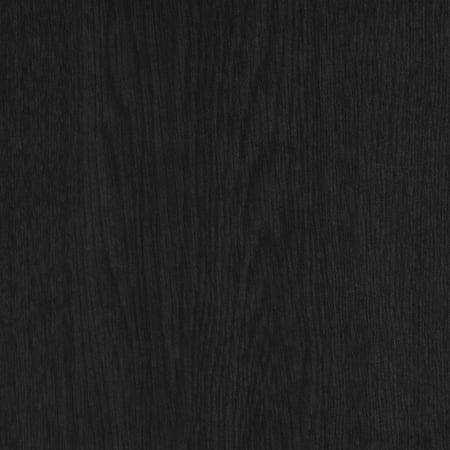 IRIS USA 3-Tier Wood Corner Curved Shelf Organizer, Black