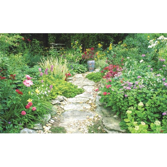 Biggies WW-GDN-100 Window Well Scene - Garden 100 in.