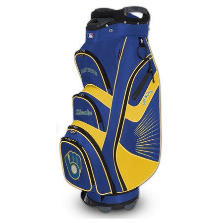 Milwaukee Brewers Bucket II Cooler Cart Golf Bag - No Size